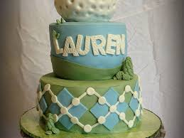 This Cake Was Made For My Daughters Mini Golf Birthday Party This Is