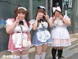 Chubby anime girls | anime amino. Akihabara Maid Cafe Chubby Girl Edition Japan Awesomeness
