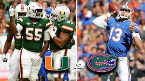 2012 Miami Hurricanes Football Depth Chart Miami Hurricanes Vs Florida Gators 2019 Game Preview