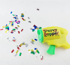 Happy Birthday Confetti Wedding Streamer Party Poppers Confetti