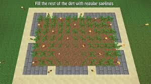 How To Make A Underground House How To Build A Tree Farm In Minecraft For Easy Access To All Types