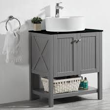 bathroom vanities vessel sinks sets. Vessel Sink · Vinnova Modena 28\u201d Single Bathroom Vanity Set Vanities Sinks Sets