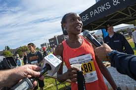 Caroline Kurgat smashes Mayor's half marathon record - Anchorage ...