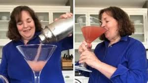 Ina Garten makes a giant cocktail for one - CNN Video