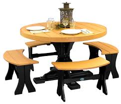 round table and chairs clipart. furnituremagnificent tables chairs amish merchant round table on wheels set benches cedar black at dining height and clipart