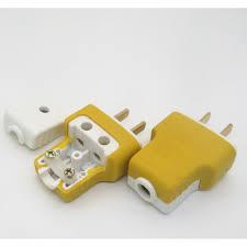 Phích cắm 2 chân dẹt bằng đồng sz13, ổ cắm điện chịu tải tới 250v-16A -  Khác