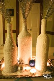 Home Decor With Wine Bottles Easy and Inexpensive wine bottle craft 12