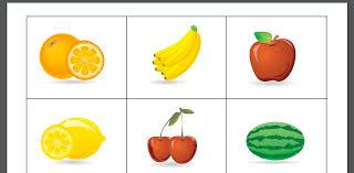 Food Flash Cards Free Swedish Fruit Flash Cards