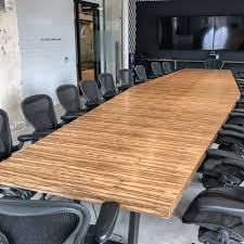conference table size by number of users