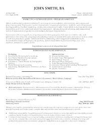 Resume Objective For Personal Assistant Best of Personal Care Assistant Resume Personal Assistant Resume Sample