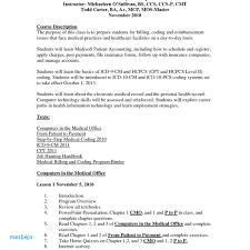 Medical Coding Resume Examples Medical Billing And Coding Resume