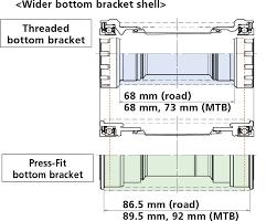 Shimano Compatibility Chart 6700 Press Fit Bottom Bracket Shimano Bike Component