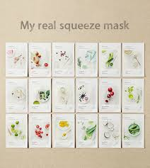 SKIN CARE - <b>My real</b> squeeze mask - rose | <b>innisfree</b>