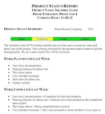 How To Write A Weekly Report Template Sample Weekly Project Status Report Template Email Examples