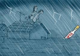 Resultado de imagem para enchentes humor