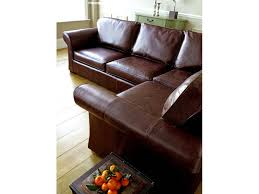 shown above in old vintage dark brown leather