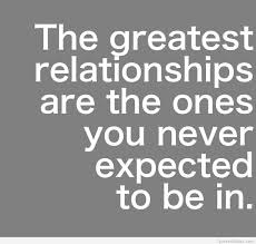 New Relationship Quotes Adorable The Ones You Never Expect To Be In Relationships Pinterest