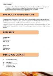 Sample Resume Pdf Format | Resume Format And Resume Maker