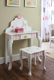 Princess And The Frog Bedroom Decor Teamson Girls Dressing Table And Stool Princess Frog