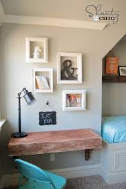 Nice DIY Frame Shelves