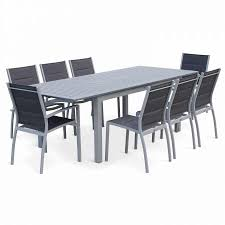 outdoor dining set alice s garden 8 10 seater 175 245cm extending dining set grey