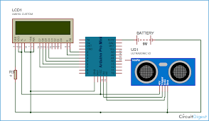 arduino distance measurement circuit diagram arduino arduino distance measurement circuit diagram