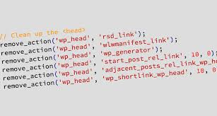 cleanup wp head remove wordpress version