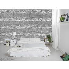 old brick wall in black and white br wallpaper mural br old brick wall in black and white wallpaper mural various sizes 5041136 loading zoom