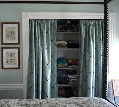 curtains for closet doors closet doors beautiful and inspiring ideas the creek line house how to curtains for closet doors