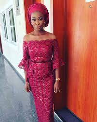 Aso Ebi Styles Collection From Beautiful Looking Wedding Guest