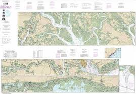 Intracoastal Waterway Nautical Charts Amazon Com Synthetic Media Noaa Chart 11518 Intracoastal