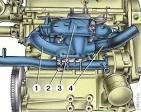 Подводящая труба насоса ваз 2109 замена