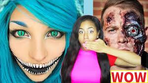 25 creepy makeup ideas last minute diy costume ideas
