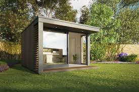 Initstudios39 prefab garden office spaces Space Meilleur Garden Office Space What Garden Office Space Homegramco Garden Office Space Unique Garden Office With Canopy And Decking