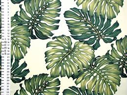 monstera tropical upholstery fabric this high quality upholstery fabric features beautiful green leaves all over