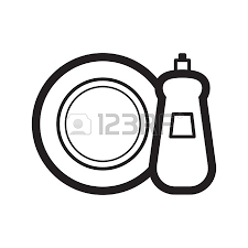 dishwasher clipart black and white. black and white battery. transparent dishes dishwasher detergent with a plate clipart