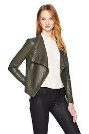 bb dakota vegan leather jacket front cropped image