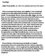 fight club essay questions gradesaver fight club argument essay angelfire