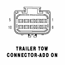 trailer tow connector add on 10 way