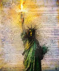 Liberty and Justice for All? Mixed Media by Howard Barry