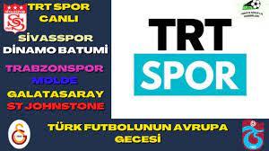 Türk Futbolunun Avrupa Gecesi Trt Spor Canlı - YouTube