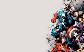 captain marvel cartoon wallpaper hd