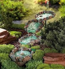 diy water fountain to make your garden