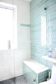 bathroom subway tile floor. Splendid Glass Subway Tile Bathroom Contemporary Ideas Blue Shower Tiles With Gray Mosaic Floor .jpg
