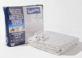 dual control heated mattress pad. Simple Heated Slumberland Heated Mattress Topper Dual Control Double U0026 Kingsize Double  Dual And Pad