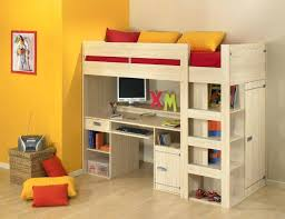 bunk bed office underneath. Kids Loft Bed With Desk Beds And Stairs Side Underneath White . Bunk Office