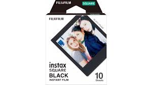 Buy <b>Fuji Instax Square Black</b> Frame Film - 10 Pack | Harvey Norman ...