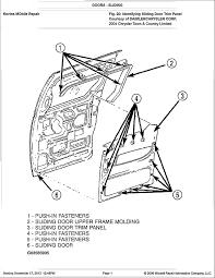 2008 toyota sienna sliding door parts designs