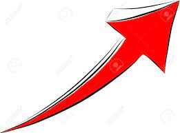 Red Arrow Drawing Up Royalty Free Cliparts, Vectors, And Stock  Illustration. Image 21570559.