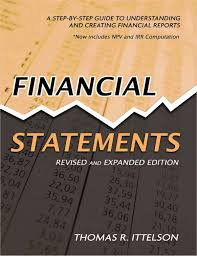 Financial Report Cover Page Financial Statements A Step By Step Guide To Understanding And